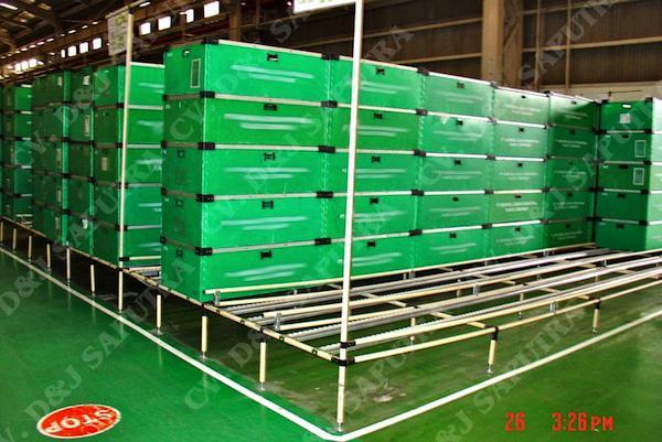 Jual gravity flow rack murah jakarta, distributor impraboard murah jakarta