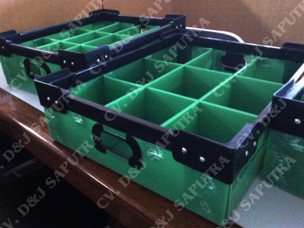 jual box partisi murah, jual impraboard pp corrugated plastic